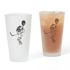 Trent's Hockey Drinking Glass