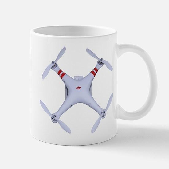 Dji Phantom Quadcopter Top View Mugs
