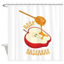 ROSH HASHANAH Shower Curtain