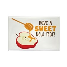 Have A SWEET New Year! Magnets