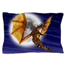 Golden Dragon Pillow Case