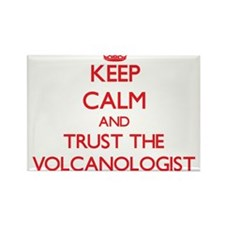 Keep Calm and Trust the Volcanologist Magnets