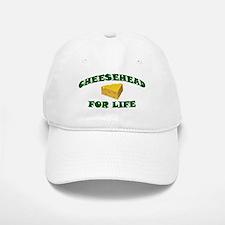 Cheesehead For Life Baseball Baseball Cap