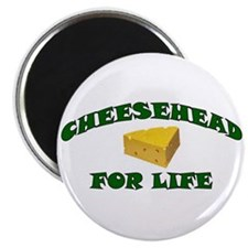 Cheesehead For Life Magnet