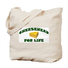 Cheesehead For Life Tote Bag