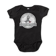 Hope Fight Cure Diabetes Baby Bodysuit