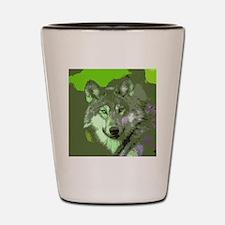 Wolf 047Q Shot Glass