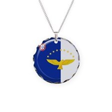 Azores islands flag Necklace
