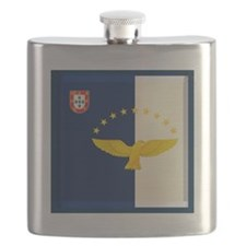 Azores islands flag Flask