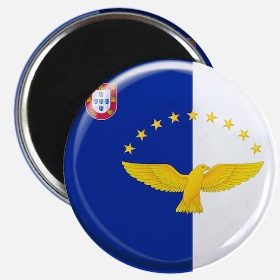 Azores islands flag Magnet