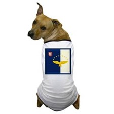 Azores islands flag Dog T-Shirt