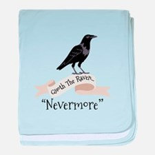 QUOTH THE RAVEN... NEVERMORE baby blanket