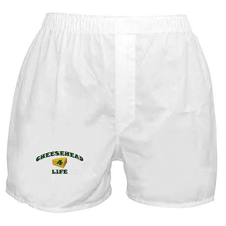 "Cheesehead ""4"" Life Boxer Shorts"