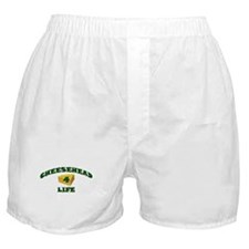 "Cheesehead ""4"" Life Boxer Shorts"