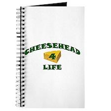 "Cheesehead ""4"" Life Journal"