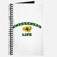"Cheesehead ""4"" Life Journal"