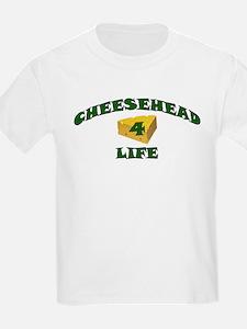 "Cheesehead ""4"" Life T-Shirt"