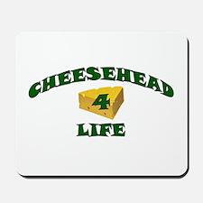 "Cheesehead ""4"" Life Mousepad"
