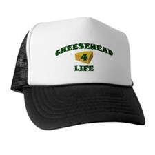 "Cheesehead ""4"" Life Trucker Hat"