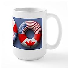 USA - Canada Ceramic Mugs