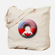 USA - Canada Tote Bag