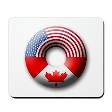 USA - Canada Mousepad