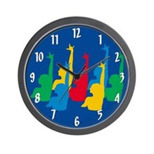 Synchronized Swimming Wall Clock