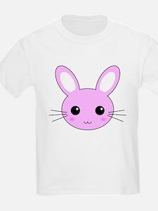Cute Pink Kawaii Bunny Rabbit T-Shirt