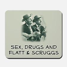 Mousepad: Sex, Drugs, Flatt & Scruggs