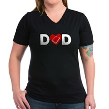 Book Heart Dad T-Shirt