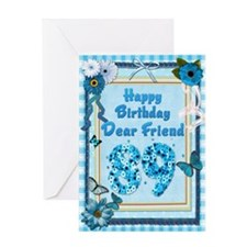 89th Birthday for a friend with a scrapbooking the