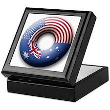 USA - Australia Keepsake Box