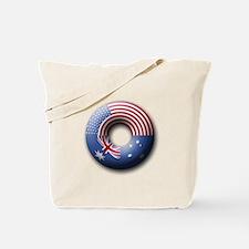 USA - Australia Tote Bag