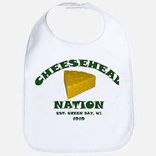 Cheesehead Nation Bib