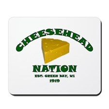 Cheesehead Nation Mousepad