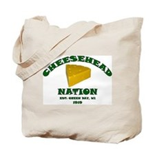 Cheesehead Nation Tote Bag