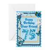 75th cards Greeting Cards