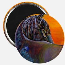 Friesian Sunset Magnet