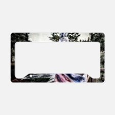 Old Rebel Flag License Plate Holder