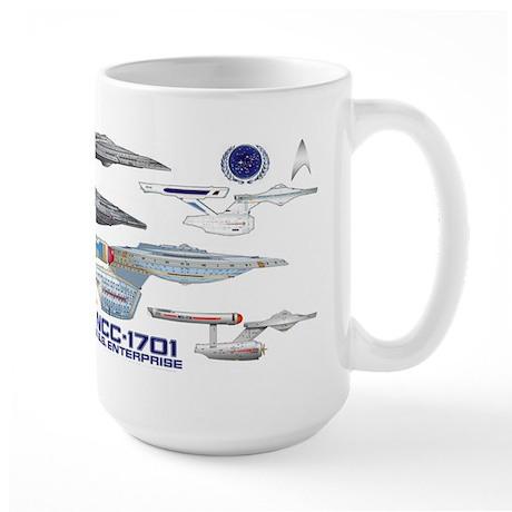 U.s.s. Enterprise Lineage Mug Mugs