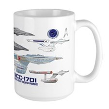 U.s.s. Enterprise Lineage Mug Mugs