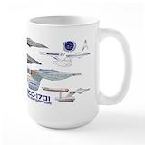 Star trek Large Mugs (15 oz)