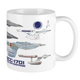 Star trek Small Mugs (11 oz)