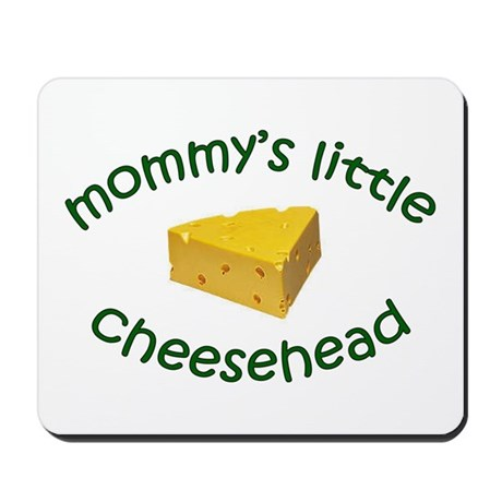 Mommy's Cheesehead Mousepad