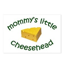 Mommy's Cheesehead Postcards (Package of 8)
