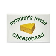 Mommy's Cheesehead Rectangle Magnet