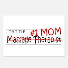 Job Mom Massage Therapist Postcards (Package of 8)