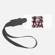 Captain America and Nick Fury Luggage Tag
