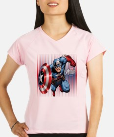 Captain America Charge Performance Dry T-Shirt