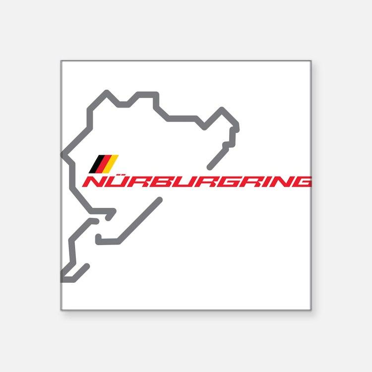 nurburgring map Sticker